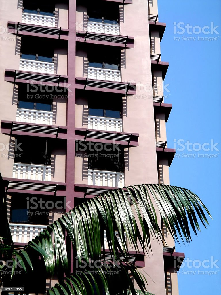 Building exteriors - Apartments royalty-free stock photo