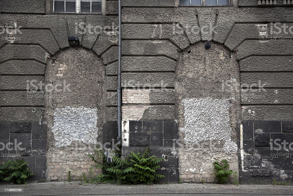 Building facade at Berlin royalty-free stock photo