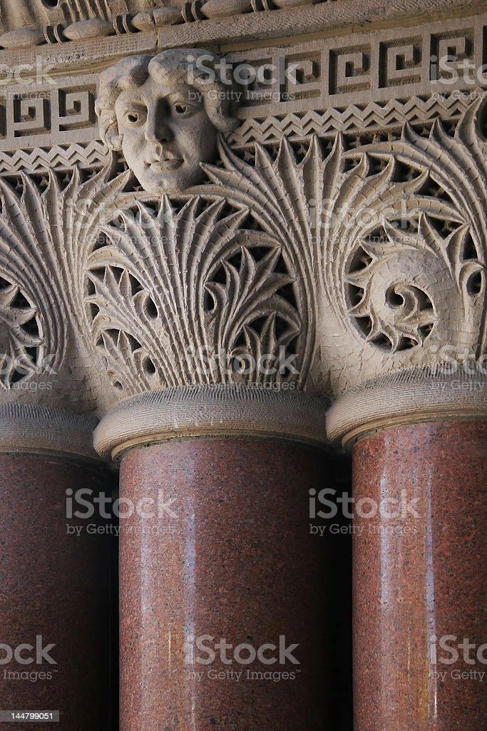 Building Facade Detail royalty-free stock photo