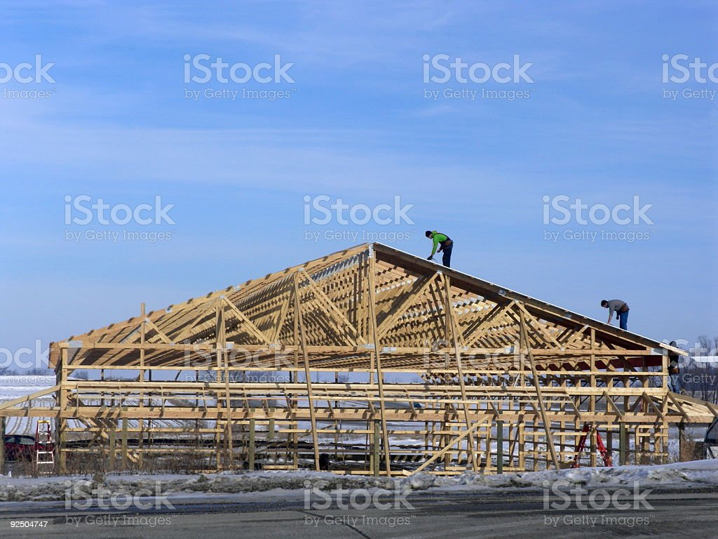 Building for the future royalty-free stock photo