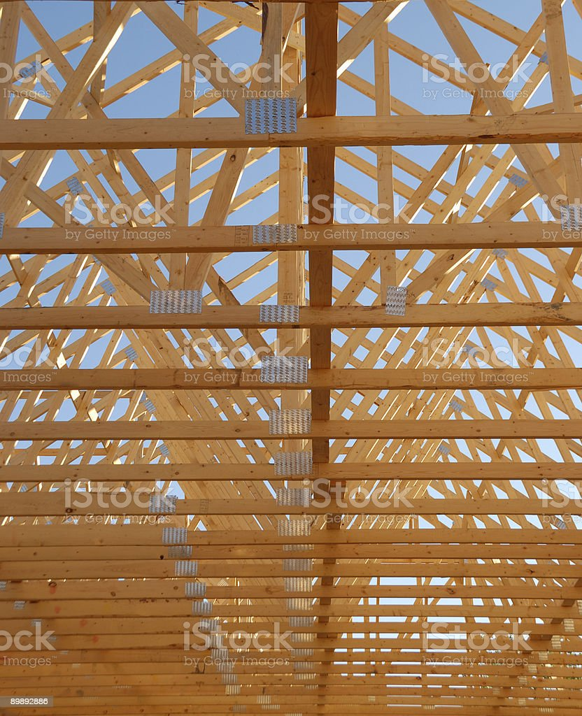 Building Frame royalty-free stock photo
