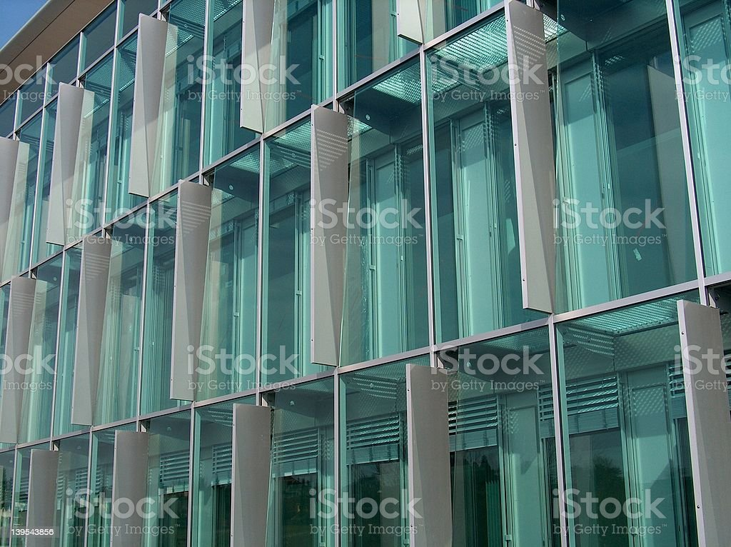 Building frontage stock photo