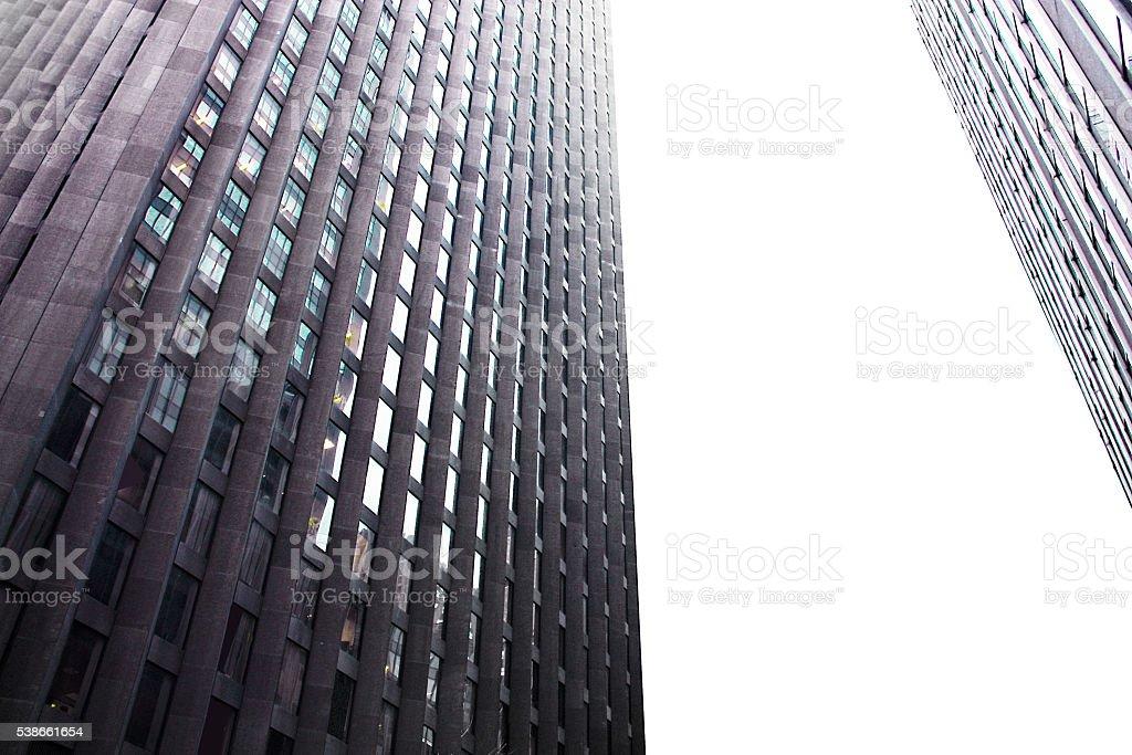 Building geometry stock photo