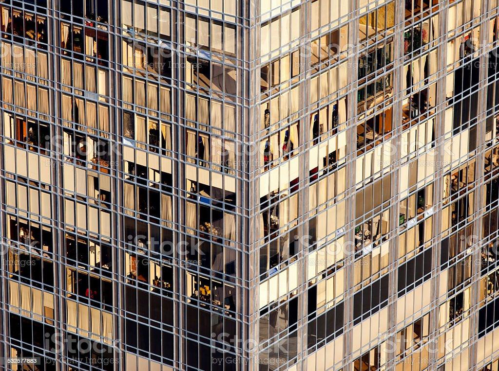 Building Glass Windows stock photo