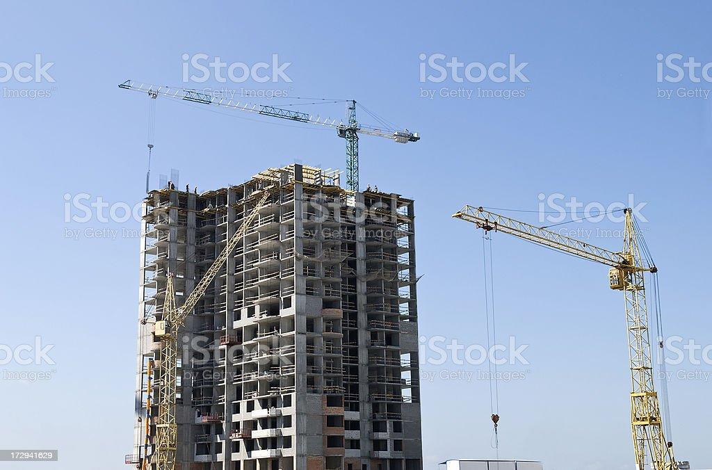 Gebäude highrise Lizenzfreies stock-foto