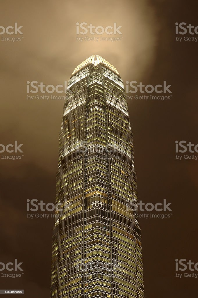 IFC building, Hong Kong stock photo
