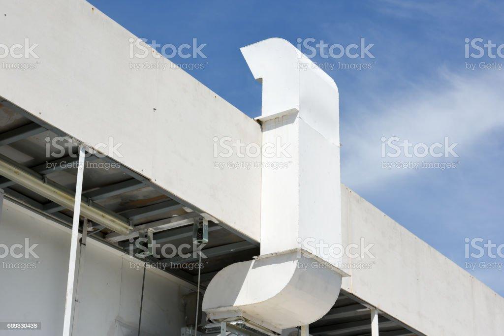 building hood stock photo