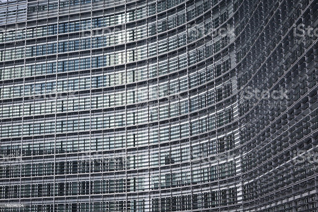 EU building in brussels royalty-free stock photo