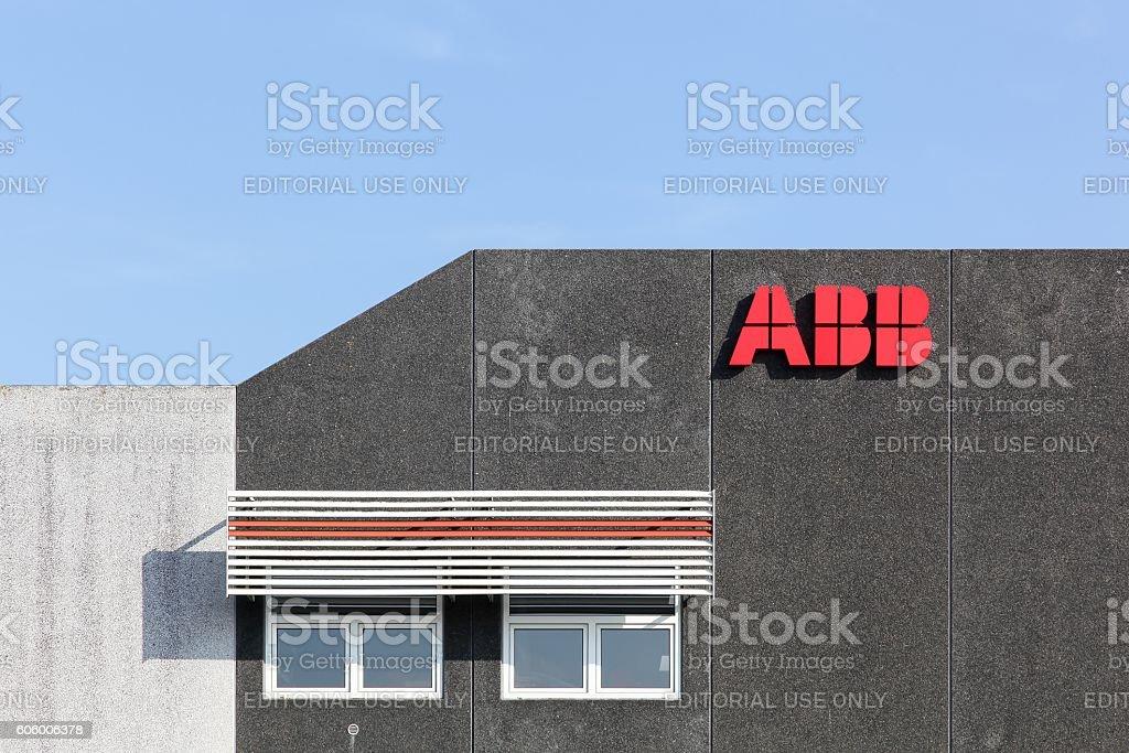 ABB building in Denmark stock photo