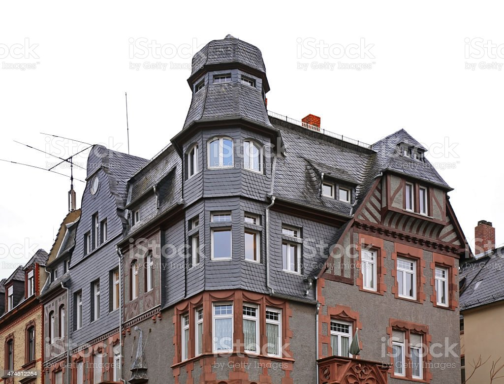 Building in Frankfurt am Main. Germany stock photo