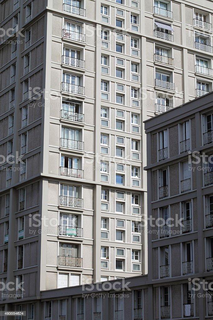 Building in Havre stock photo