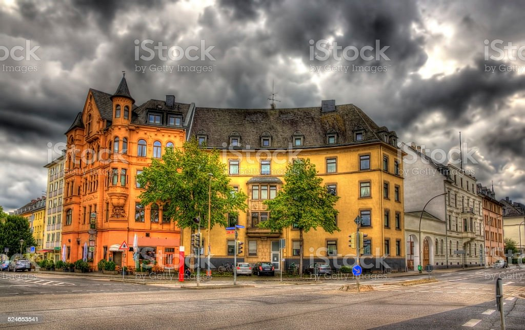 Building in Koblenz - Germany, Rhineland-Palatinate stock photo