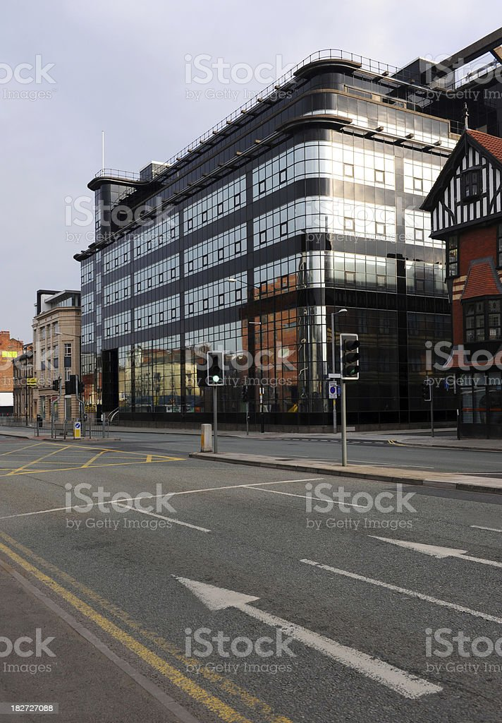 Building in Manchester stock photo
