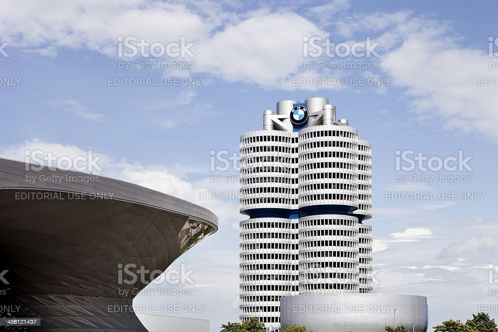 BMW building in Munich, Germany stock photo