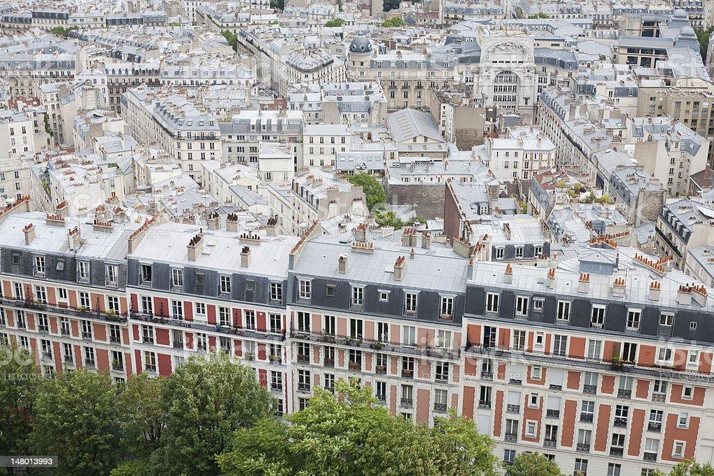 Building in Paris stock photo