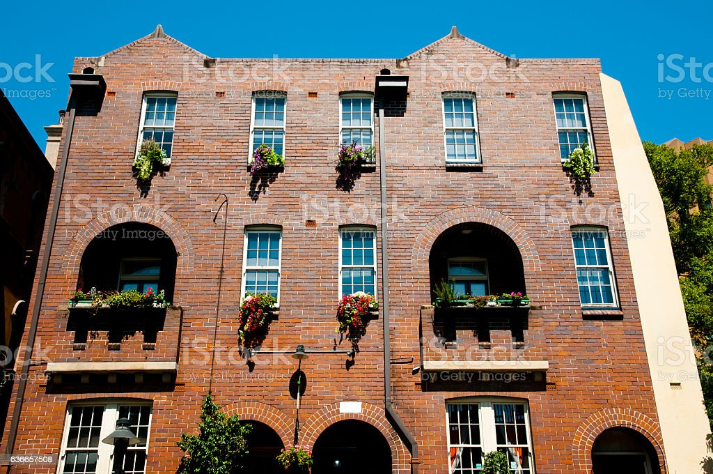 Building in 'The Rocks' - Sydney - Australia stock photo