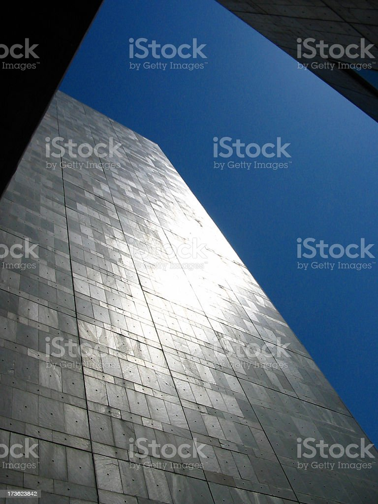 building in the sun royalty-free stock photo