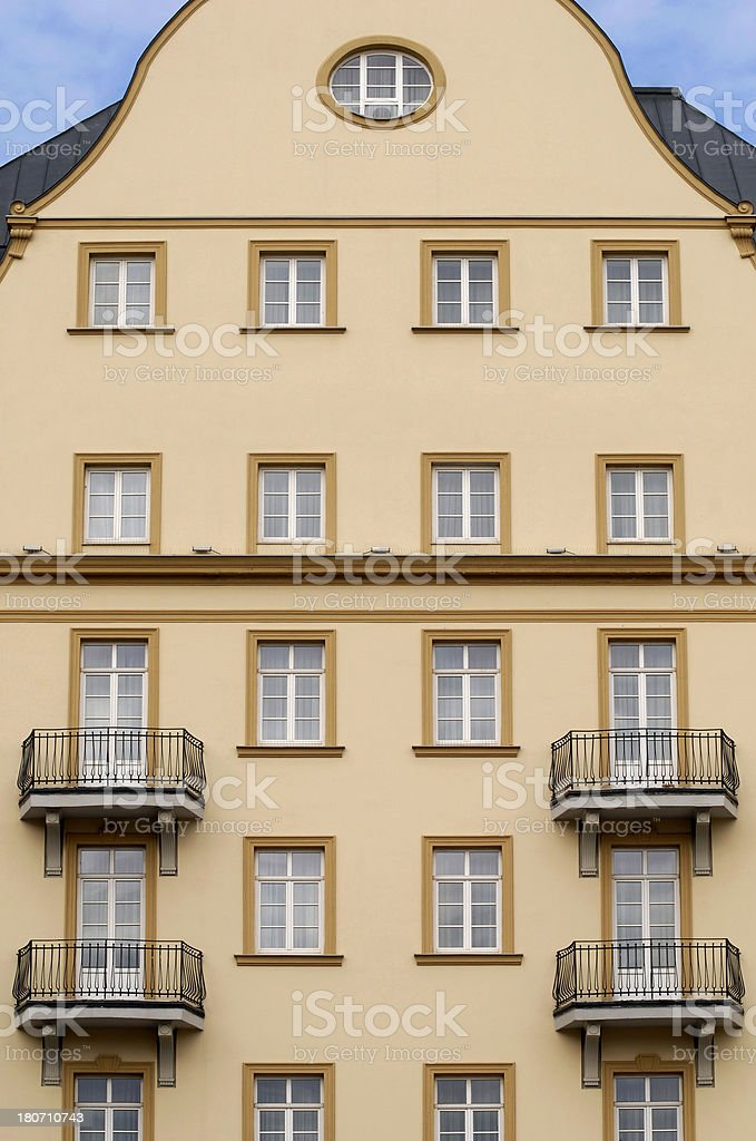 building in Timisoara royalty-free stock photo