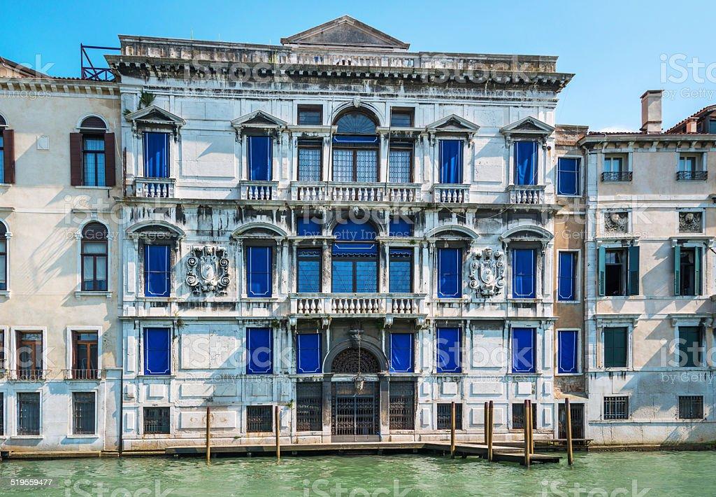 Building in Venice, Italy stock photo