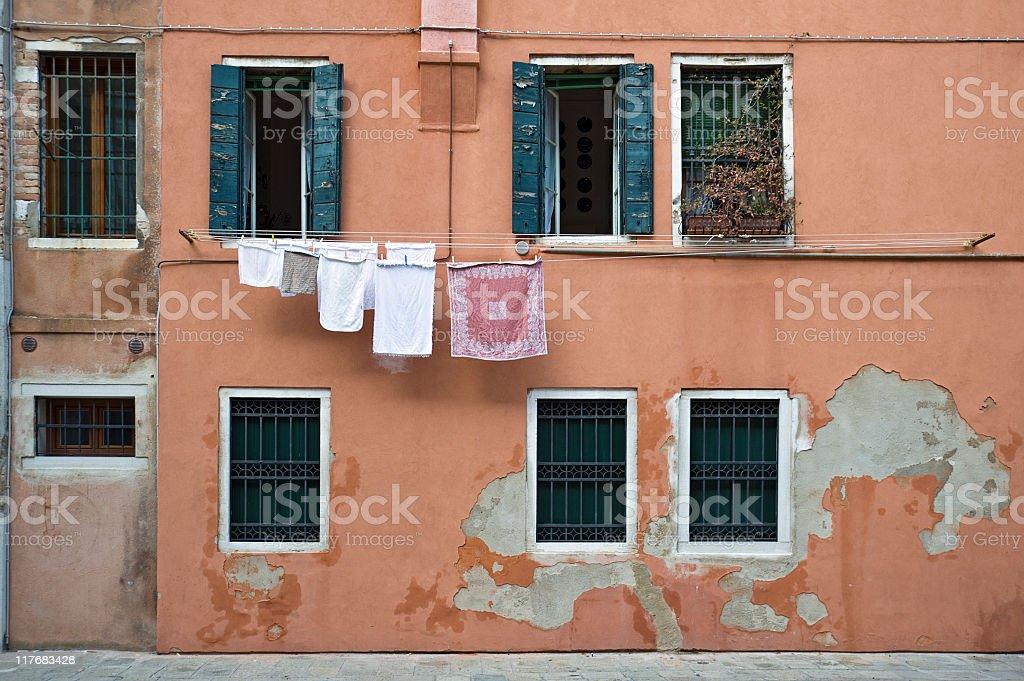 Building in Venice stock photo
