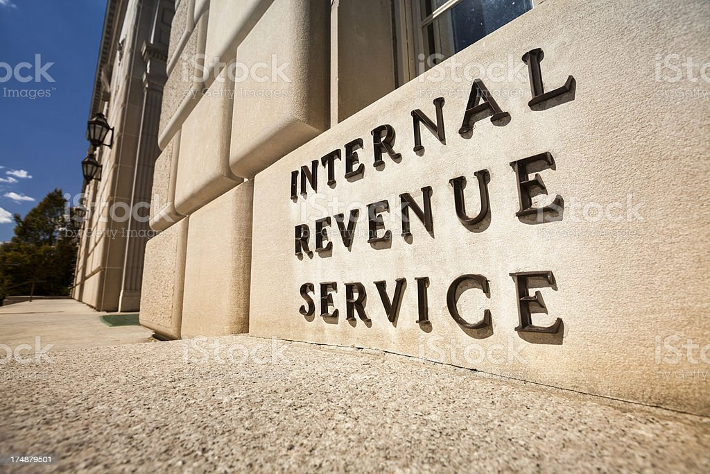 IRS Building in Washington stock photo