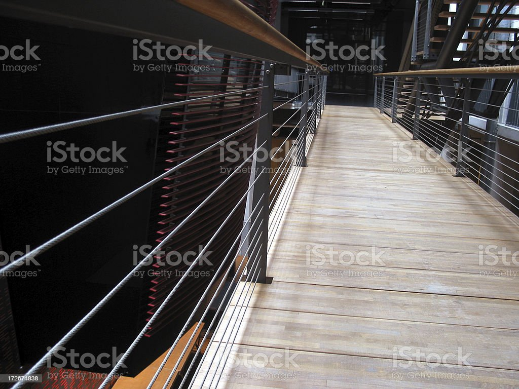 Building, indoor, crosswalk royalty-free stock photo