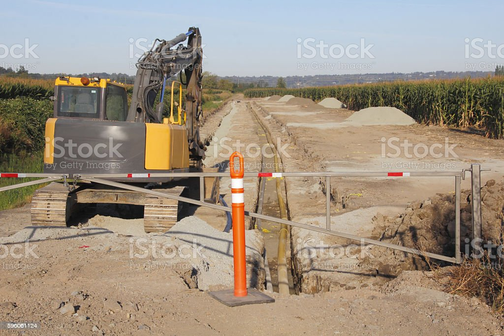 Building Industrial Agricultural Waterline stock photo