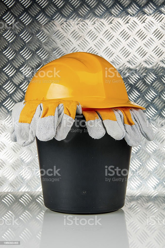 Building, industrial construction site royalty-free stock photo