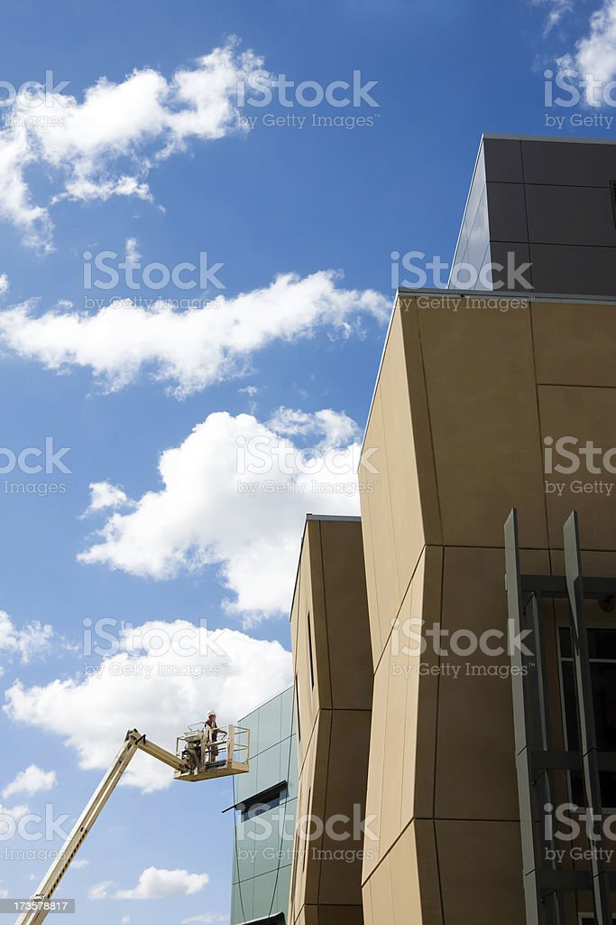 Building Inspection royalty-free stock photo