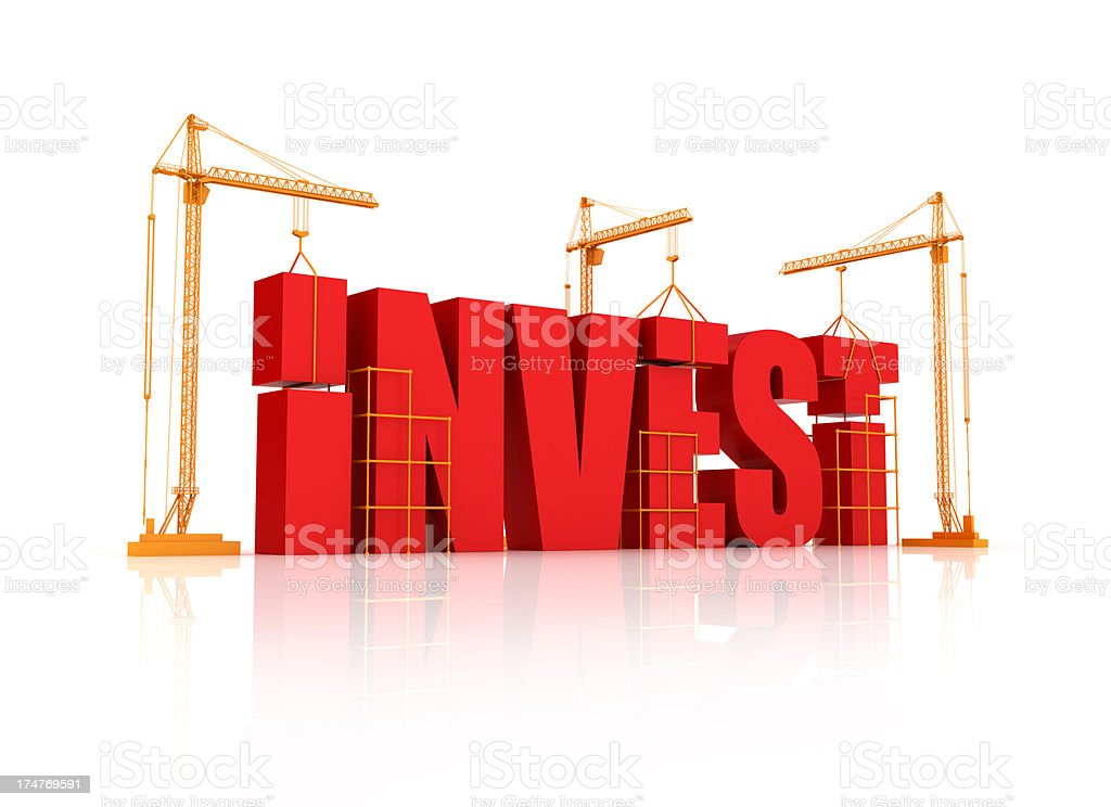 Building Investment Business stock photo