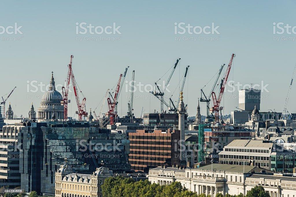 Building London stock photo