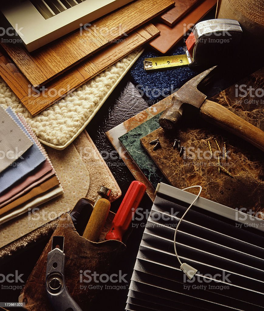 Building Materials royalty-free stock photo