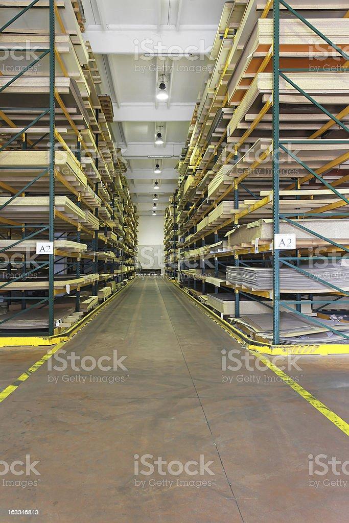Building materials warehouse royalty-free stock photo