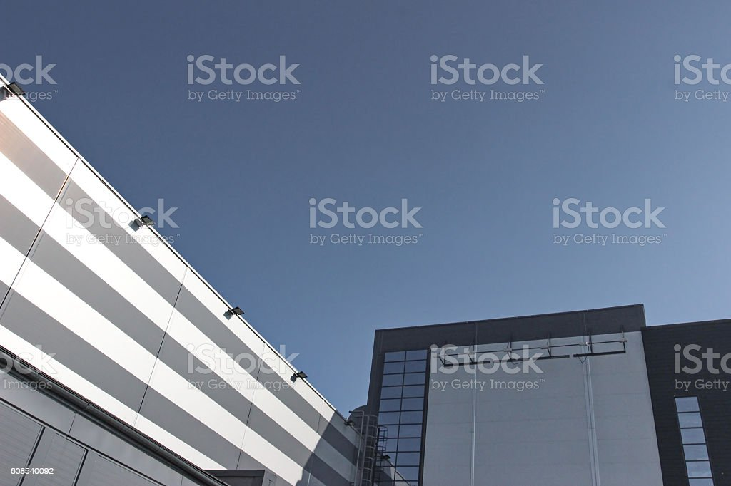 Building Modern Architecture stock photo