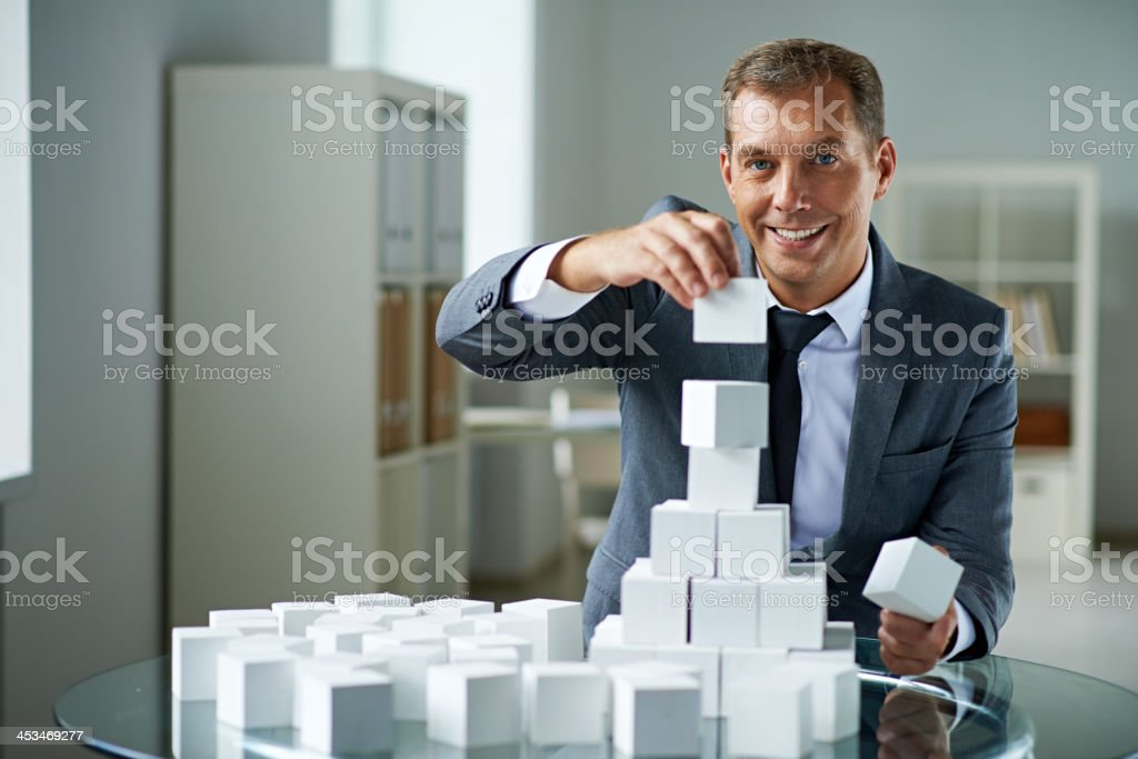 Building new business royalty-free stock photo