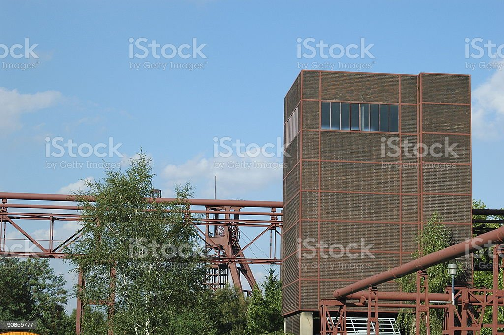 Building of a cokery stock photo