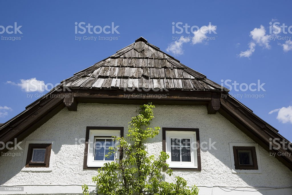 Building of Austria royalty-free stock photo