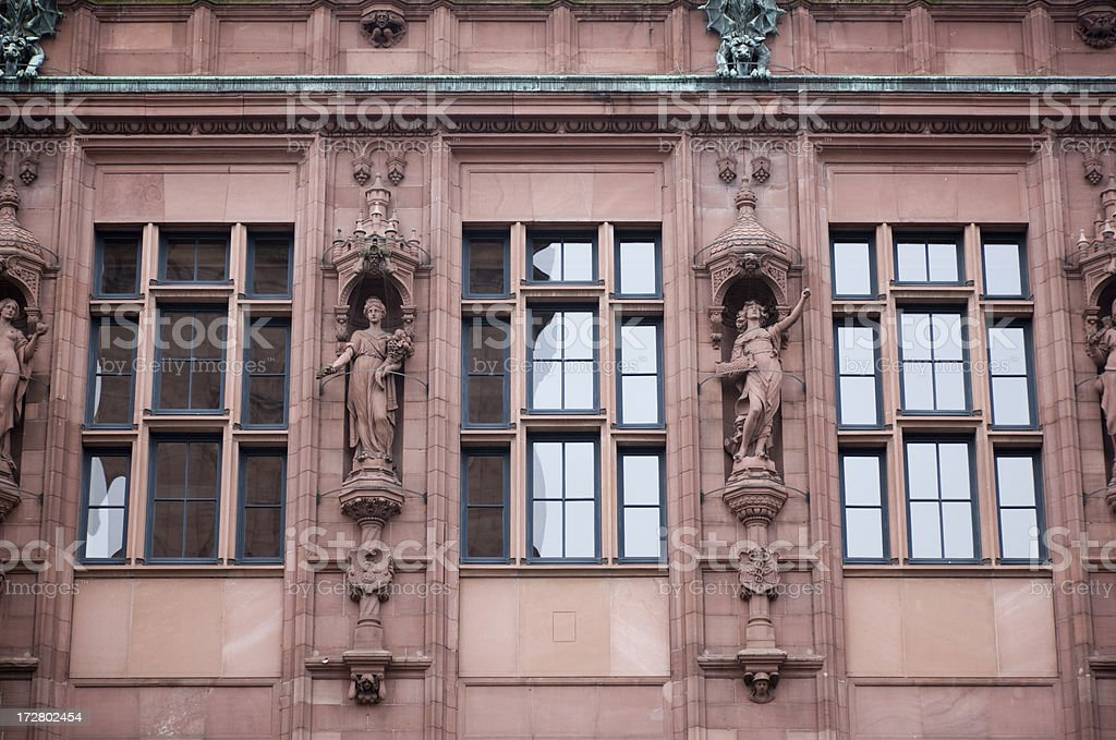 Building of Germany stock photo