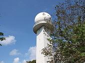 Building of meteorological observatory