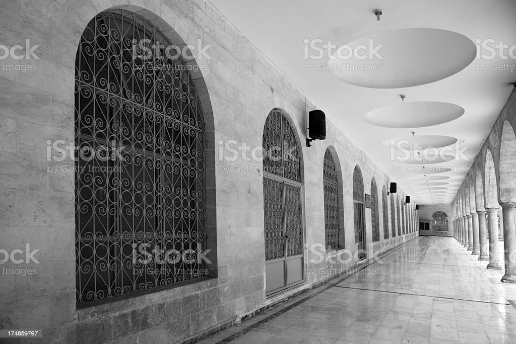 Building of mosque royalty-free stock photo