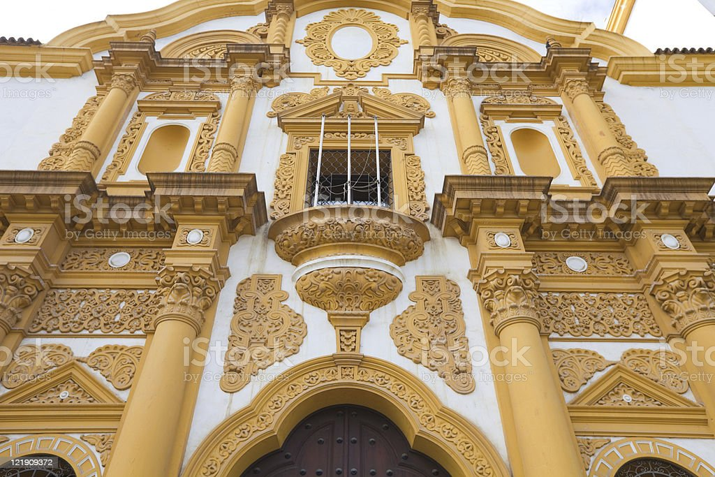 building of seville royalty-free stock photo