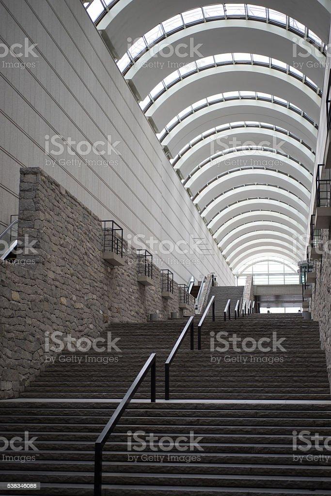 Bâtiment de l'Arche de la structure photo libre de droits