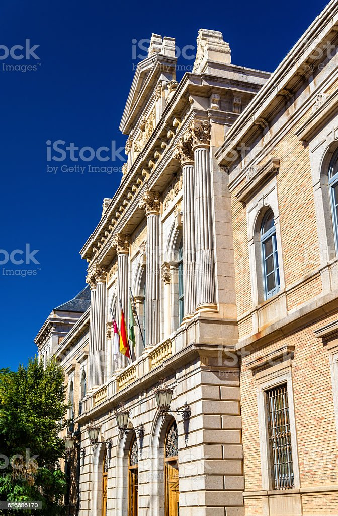 Building of Toledo Provincial Deputation - Spain stock photo
