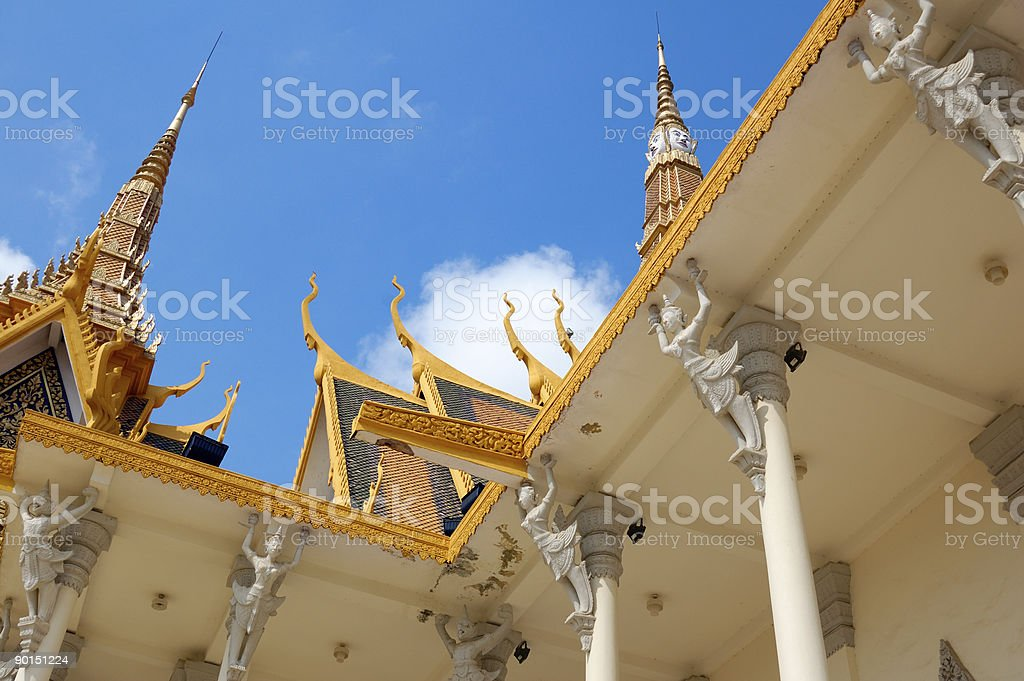 Building part of Throne hall royalty-free stock photo