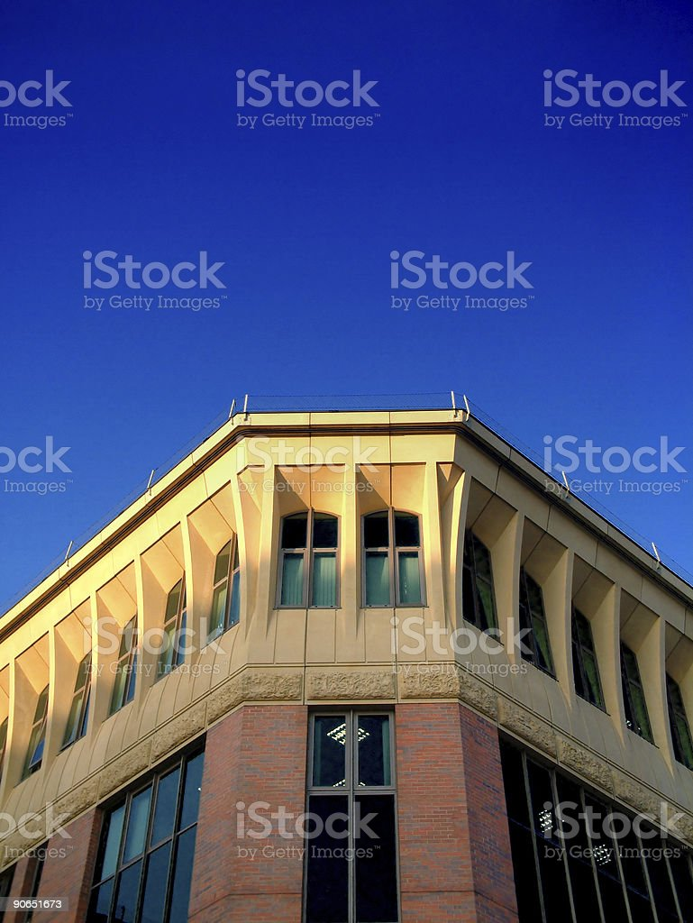 Building perspectives 1 stock photo