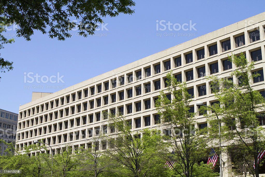 FBI Building stock photo