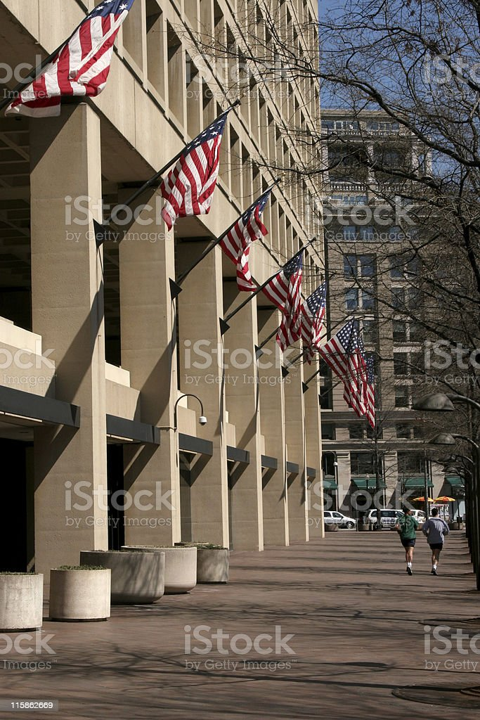 FBI Building royalty-free stock photo