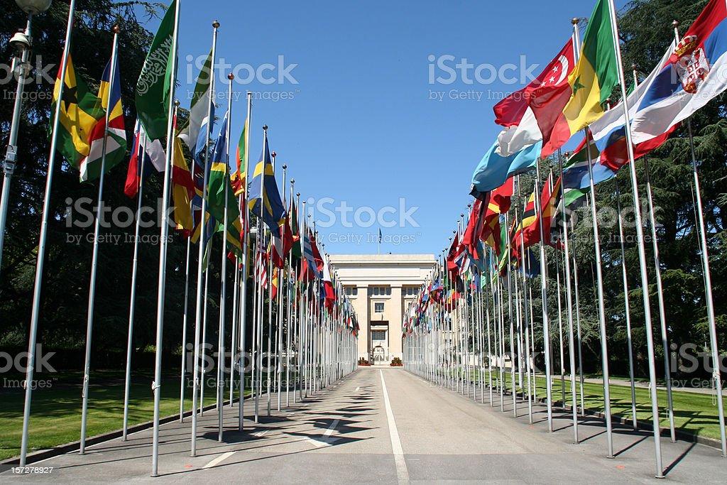 UN building stock photo