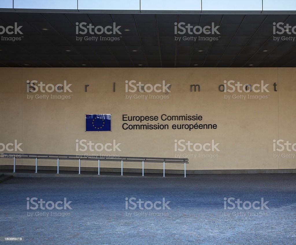 ECC building royalty-free stock photo