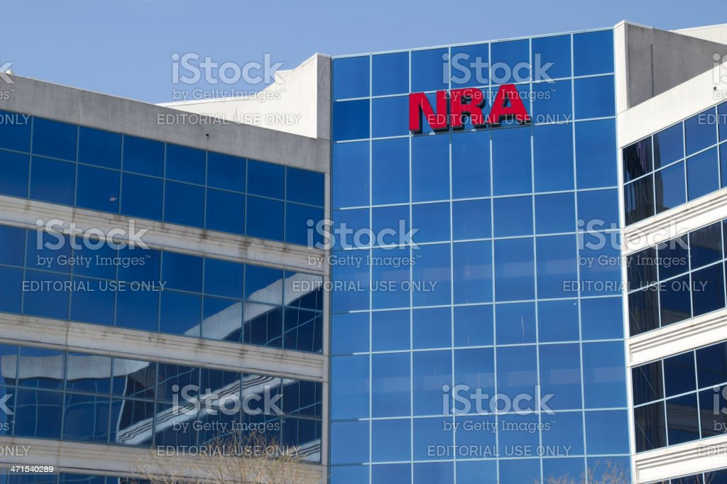 NRA Building royalty-free stock photo